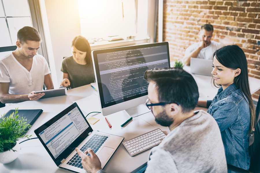 Blockchain development team in Sydney while coding