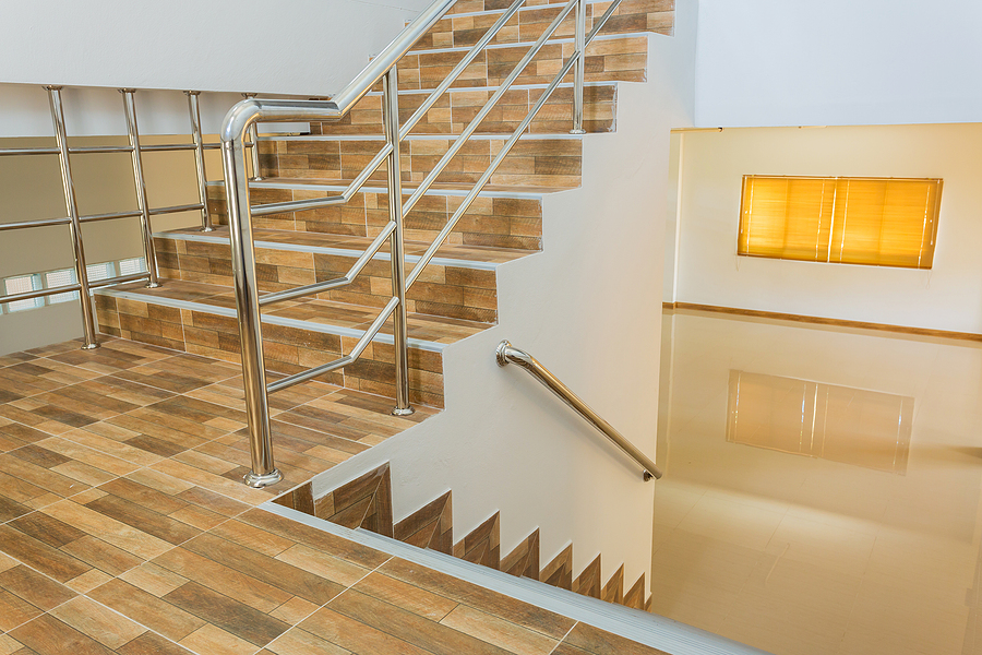 Luxury home with balustrade designed in Perth